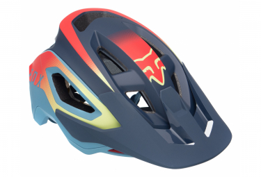 Casco Fox Speedframe Pro Bleu / Rouge