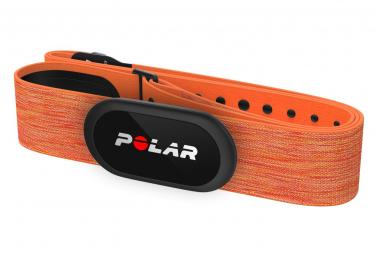 Sensore di cuore arancione Polar H10