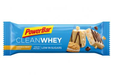 Barre Protéinée PowerBar Clean Whey Cookies Cream 45g