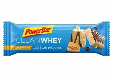 Barre Protéinée PowerBar Clean Whey Cookies Cream 45g