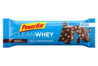 Prot In E Powerbar Clean Whey Brownie Bar De Chocolate 45g