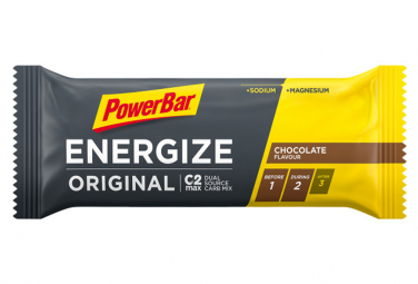 Image of Barre energetique powerbar energize original c2max 55gr chocolat
