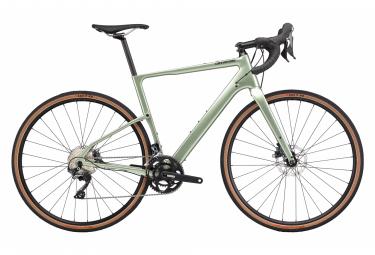 Bicicleta Cannondale Gravel Topstone Carbono Ultegra RX 2 Shimano Ultegra RX 11V 700 mm Verde Agave 2020