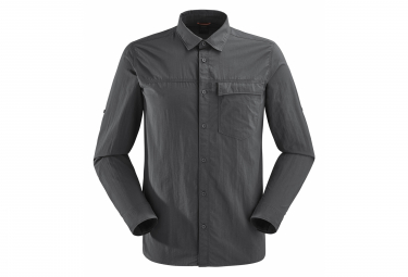 Chemise Manches Longues Lafuma Shield Grey Hombres M