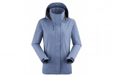 Waterproof Jacket Lafuma Way Blue Women