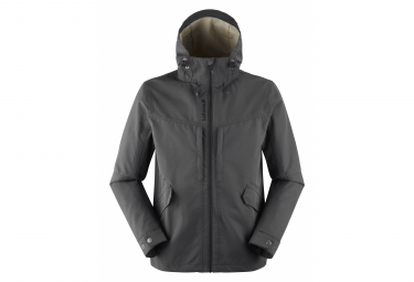 Chaqueta Impermeable Lafuma Ruck Zip In Gris Hombres S