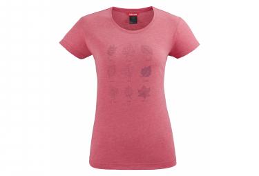 Tee shirt Lafuma Pearl Rose Femme