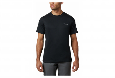 Short Sleeves Jersey Columbia Zero Rules Black Men L