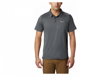 Polo Columbia Tech Trail Black Men