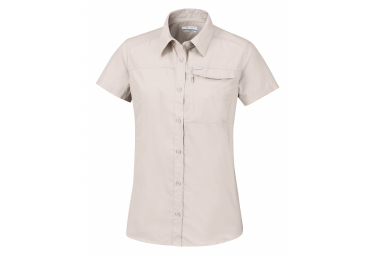 Shirt Short Sleeves Columbia Silver Ridge 2.0 Beige Women