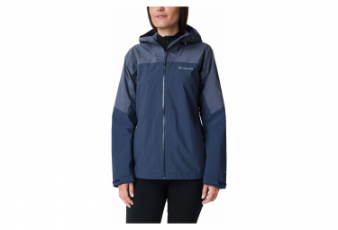 Waterproof Jacket Columbia Evolution Valley II Blue Women