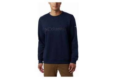 Sweat Columbia Logo Fleece Blue Men