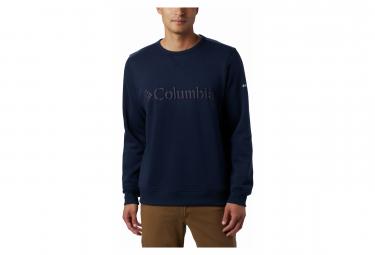 Sweat Columbia Logo Fleece Bleu Homme