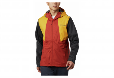 Waterproof Jacket Columbia Inner Limits II Red Yellow Men