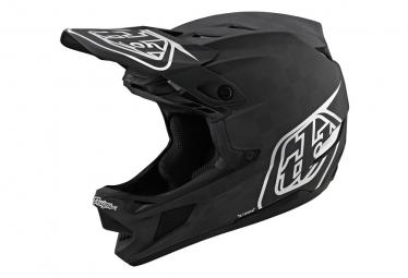 Casque Intégral Troy Lee Designs D4 Carbon Mips Stealth Noir/ Argent