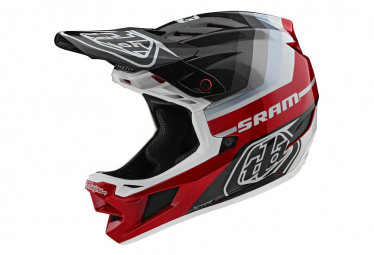 Integral-Helm Troy Lee Designs D4 Carbon Mirage Mips Schwarz / Rot