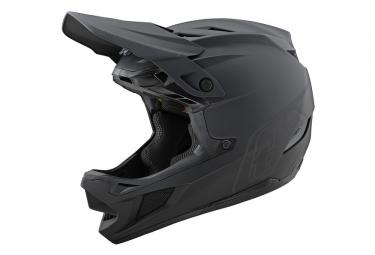 Int gral Helmet Troy Lee Designs D4 Composite Stealth Mips Black / Gray
