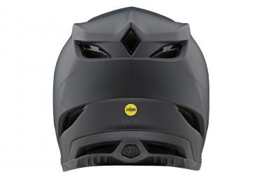 Casque Intégral Troy Lee Designs D4 Composite Stealth Mips Noir / Gris