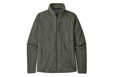 Fleece Zip Patagonia Better Sweater Verde Hombres