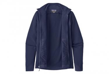 Veste Thermique Zip Patagonia R1 TechFace Bleu Homme
