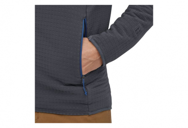Veste Thermique Zip Patagonia R2 TechFace Bleu Homme