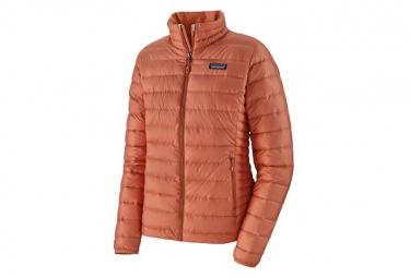 Down Jacket Patagonia Down Sweater Orange Women