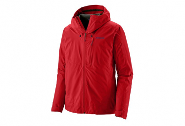 Chaqueta Impermeable Patagonia Calcite Gtx Rojo Hombres S