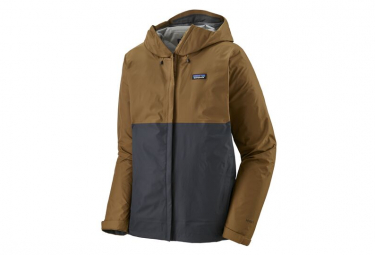 Wasserdichte Jacke Patagonia Torrentshell 3L Brown Men