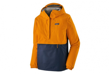 Chaqueta Impermeable 1/4 Zip Patagonia Torrentshell 3L Amarillo Hombres