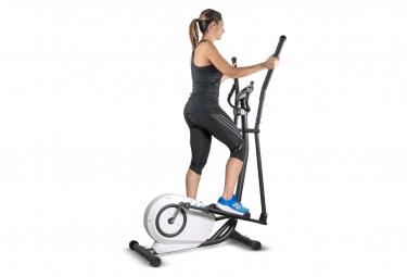 Vélo Eliptique  Compact E-Bike - Roue inertie 5Kg - 8 niveaux de résistence - Capteurs Pulsations Cardiaque - Ecran d'entraînement