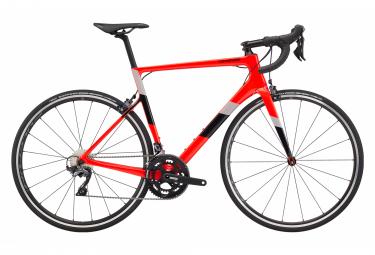 Bicicleta De Carretera Cannondale Supersix Evo Carbon Ultegra 2 Shimano Ultegra 11s 700 Mm Rojo Acido 54 Cm   170 180 Cm