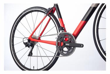Bicicleta de carretera Cannondale SuperSix EVO Carbon Ultegra 2 Shimano Ultegra 11S 700 mm rojo ácido