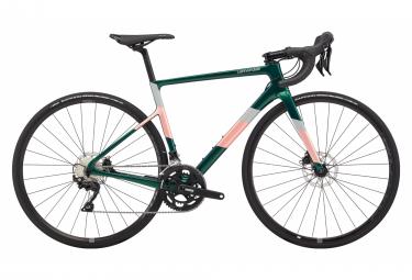 Cannondale SuperSix EVO Carbon Disc Women's 105 Women Road Bike Shimano 105 11S 700 mm Emerald Green Pink 2020
