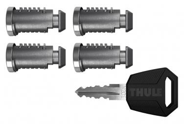 Serrures Thule One-Key System Pack de 4 Barillets et 1 Clé