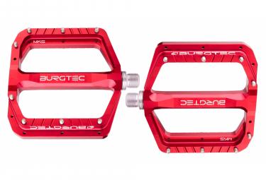 Burgtec Penthouse MK5 Flat Pedals Race Red
