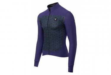 LeBram Croix de Fer Long Sleeves Jersey Blue Adjusted Fit