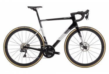 Bicicleta de carretera Cannondale SuperSix EVO Hi-MOD Disc Ultegra Di2 Shimano Ultegra Di2 11S 700 mm Carbon Black Grey