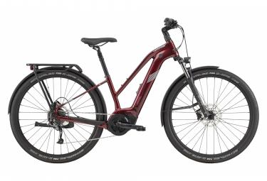 Bicicleta Ciudad Mujer Cannondale Tesoro Neo X 3 Rouge / Blanc