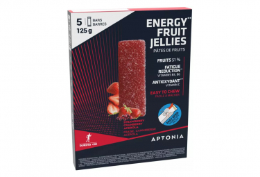5 Pâtes de Fruits Aptonia Ultra Fraise / Cerise 5x25g