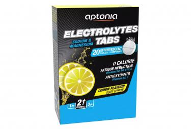 20 Pastilles effervescentes Aptonia Electrolytes Tabs Citron