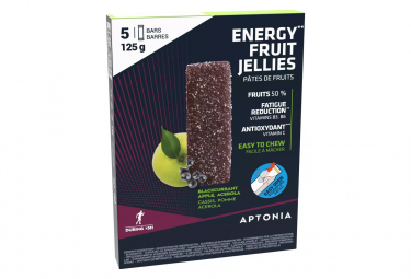 5 Pâtes de Fruits Aptonia Ultra Cassis Pomme 25g