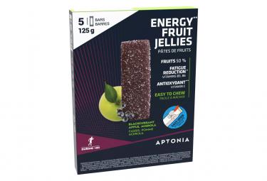 5 Pâtes de Fruits Aptonia Ultra Cassis Pomme 25g