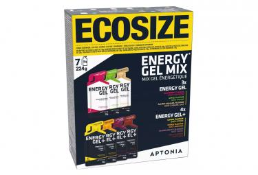 7 Gels énergétiques Aptonia Courtes et Longues Distances Mixés 32g