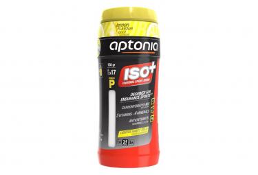 Boisson énergétique Aptonia Iso+ Powder Citron 650g