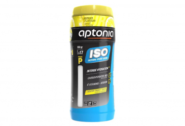 Bebida energética Aptonia Iso Powder Lemon 650g