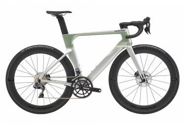 Bicicleta de carretera Cannondale SystemSix Carbon Ultegra Di2 Shimano Ultegra Di2 11S 700 mm Sage Grey 2020