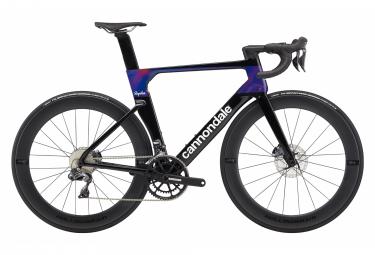 Cannondale SystemSix Carbon Ultegra Di2 Road Bike Shimano Ultegra Di2 11S 700 mm Team Replica Black 2020