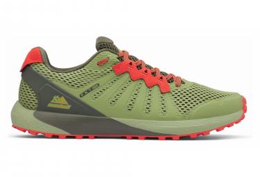 Chaussures de Trail Columbia F.K.T Vert Vert / Orange