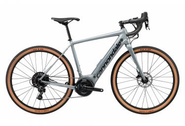 Bicicleta eléctrica de grava Cannondale Synapse Neo SE Sram Apex 1 11S 500 Wh 650b Stealth Grey 2020