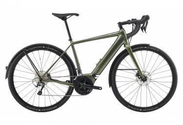 Bicicleta eléctrica de grava Cannondale Synapse Neo EQ Shimano Tiagra 10S 500 Wh 700 mm Mantis Green 2020